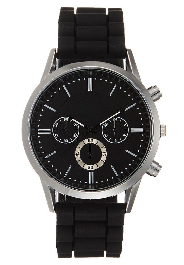 Zegarek - silverc-oloured/black