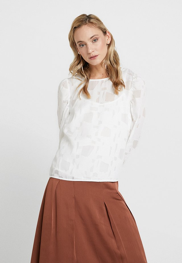 PAPALINA FORMAL BLOUSE - Blouse - optical white