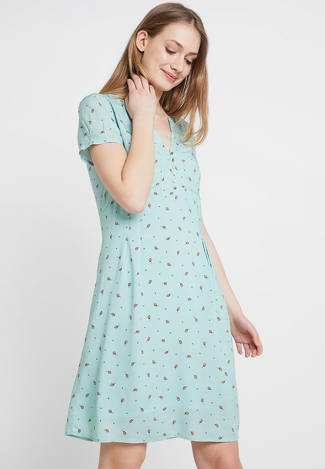 FLUENT - Shirt dress - light aqua green