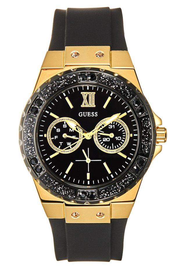 LADIES SPORT - Horloge - black/gold-coloured