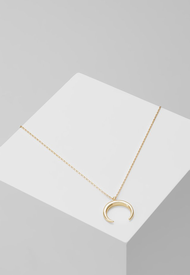 CRESCENT DITSY NECKLACE - Ketting - silver-coloured