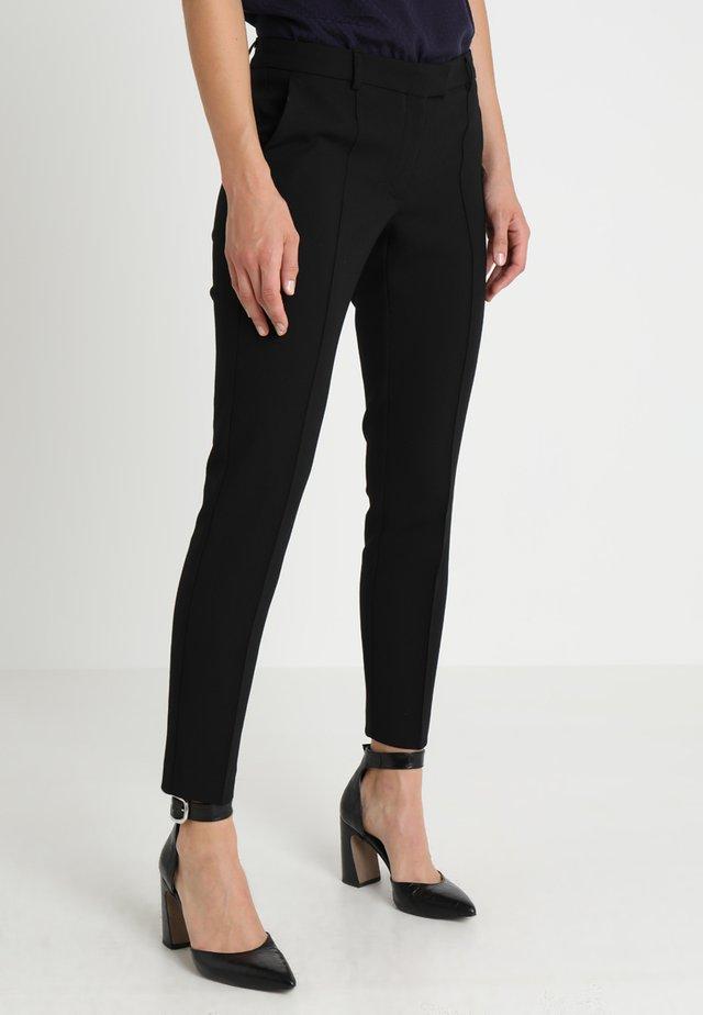 Spodnie materiałowe - schwarz