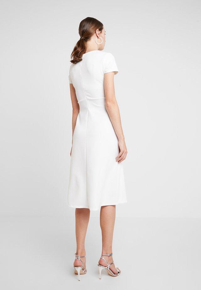 Jerseykjole - white