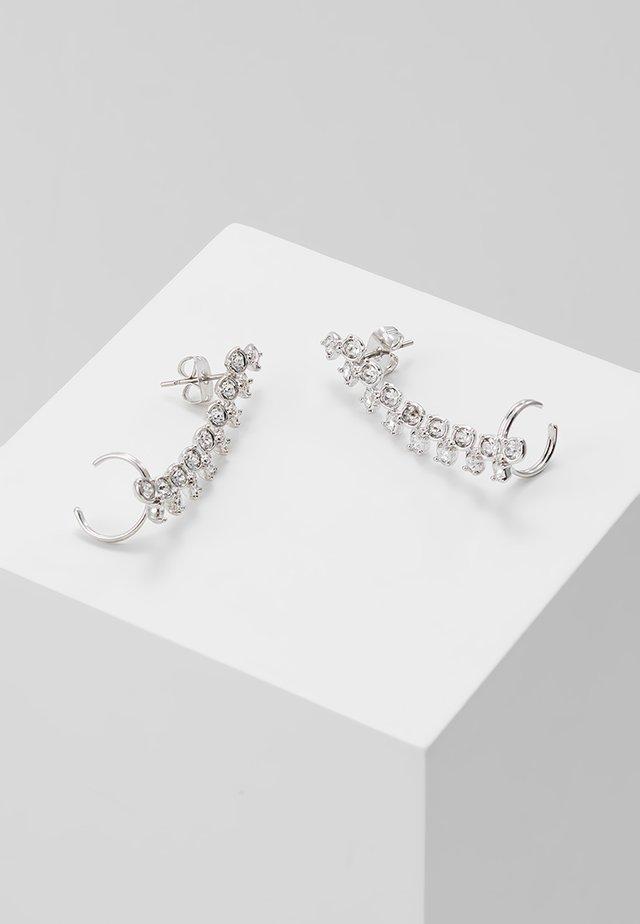 ELDORIA PRINCESS SPARKLE EAR CUFF - Armbånd - silver-coloured