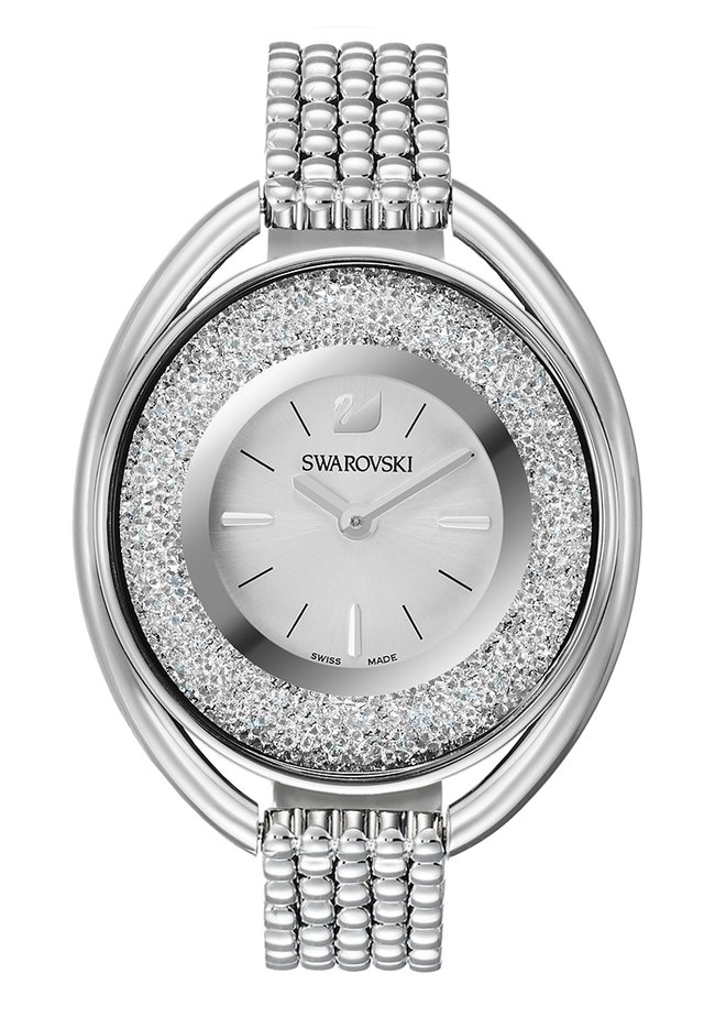 OVAL  - Uhr - silver-coloured