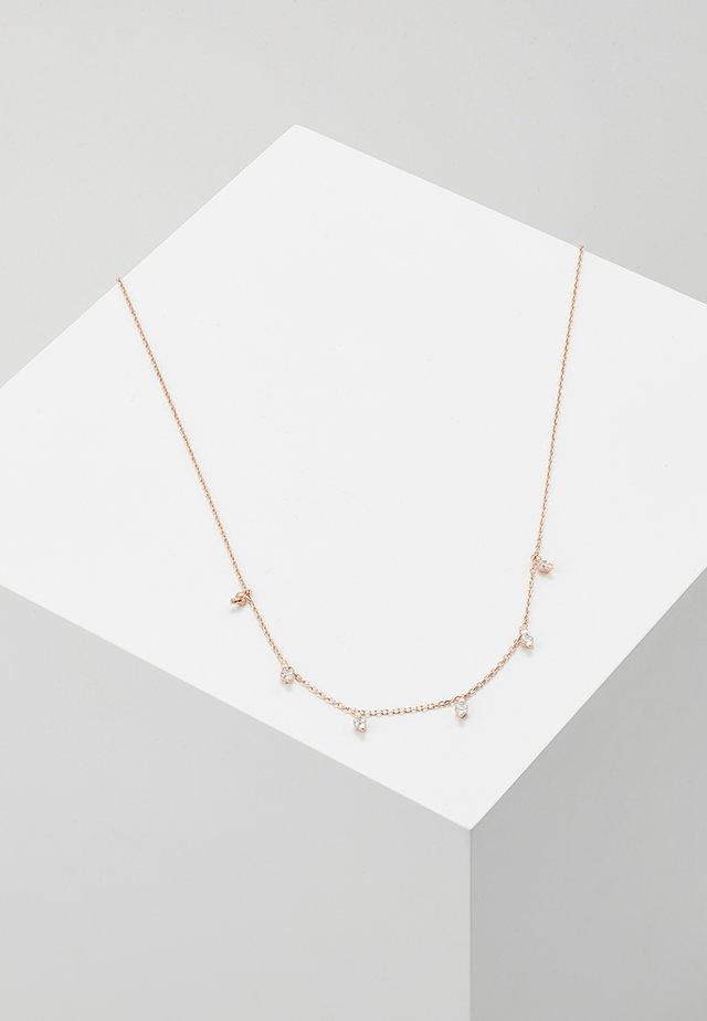 MULTI DROP NECKLACE - Collana - rose gold-coloured