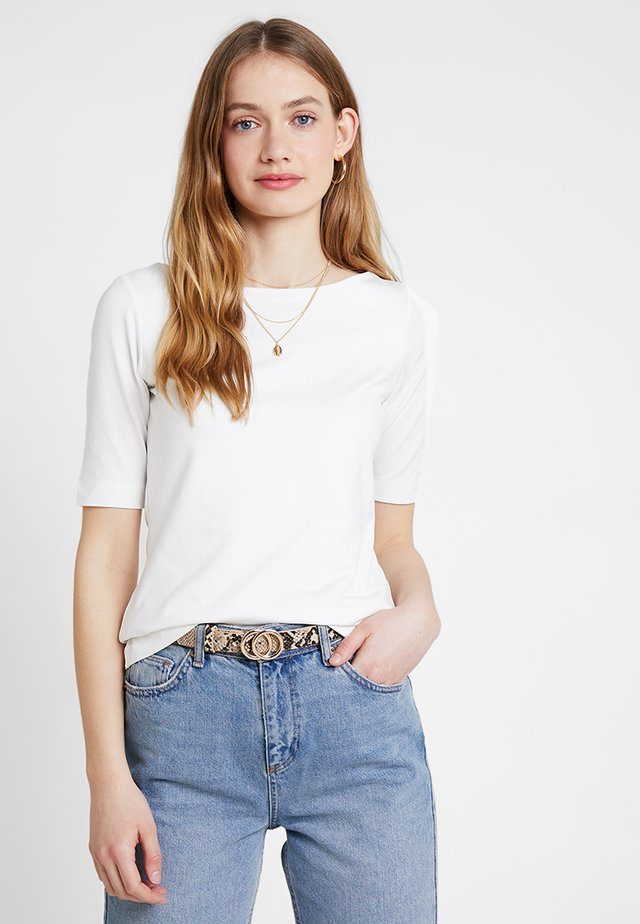KURZARM - T-shirt basic - summer creme