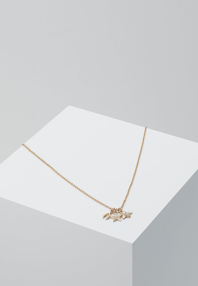 WISHBONE CLUSTER - Halskette - gold-coloured