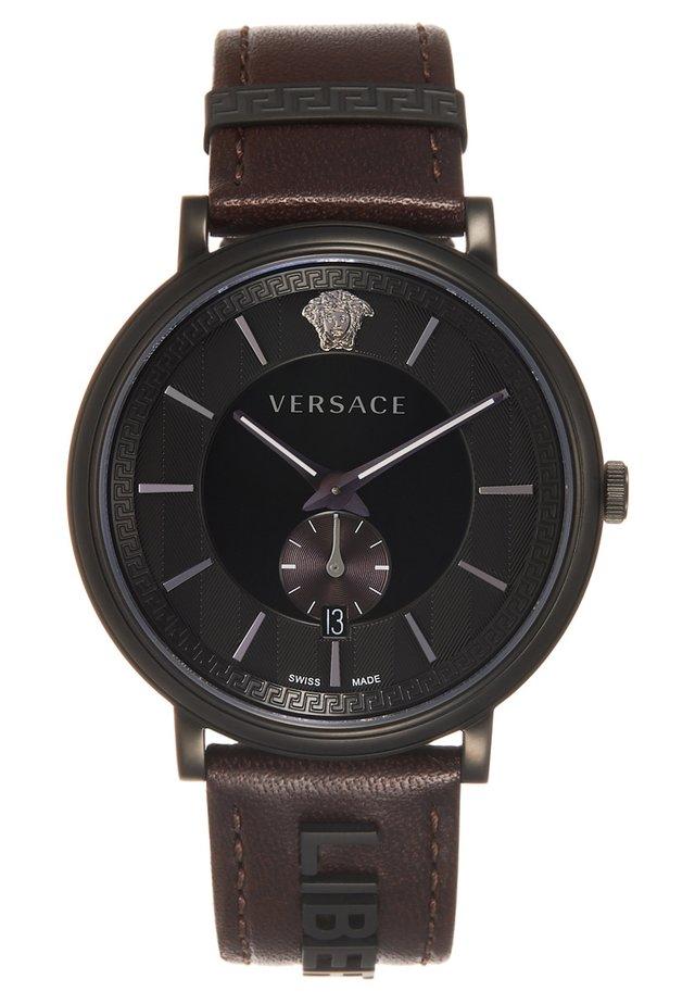 V-CIRCLE THE MANIFESTO EDITION - Watch - black/brown