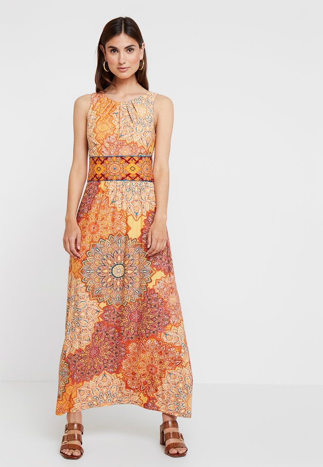 TILE DRESS - Maxikjoler - orange
