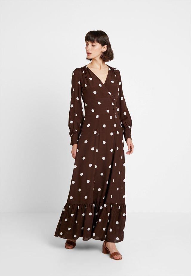 BOHEMIAN  - Vestido largo - dark chocolate