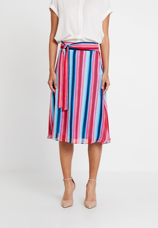 KURZ - A-line skirt - multi-coloured