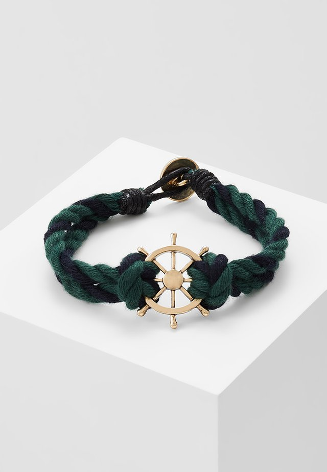 WHEEL THING - Armbånd - navy/green
