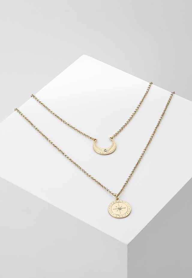 STONE CENTRE  - Necklace - gold-coloured