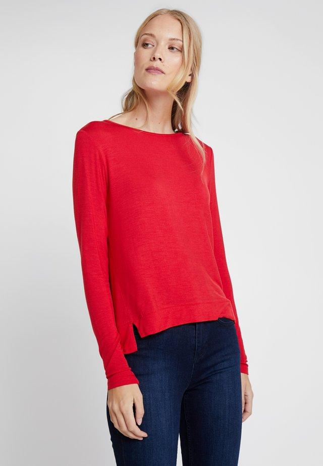 SEMKE - Long sleeved top - true red