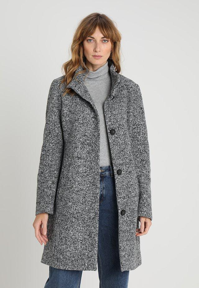 Zimní kabát - grey/black
