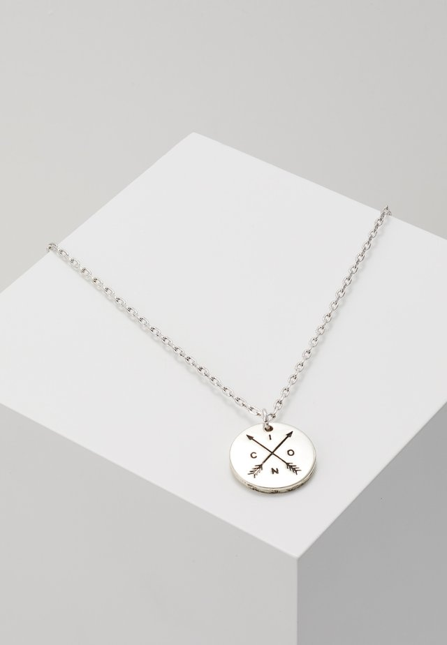 TAKE AIM PREMIUM NECKLACE - Halskæder - silver-coloured