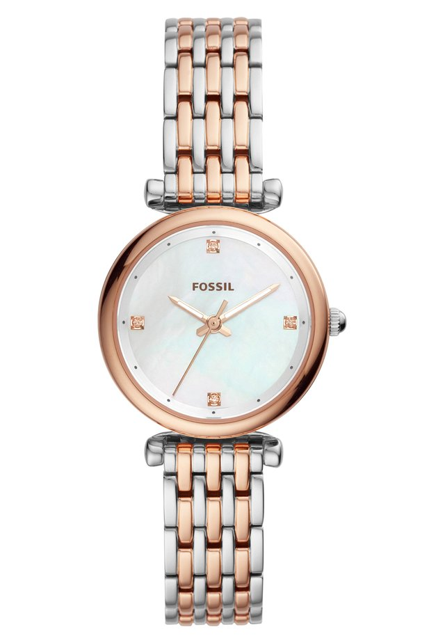 CARLIE - Watch - roségold-coloured/silver-coloured