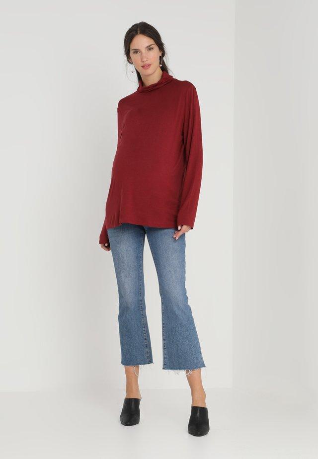 VEROLL  - T-shirt à manches longues - dark burgundy