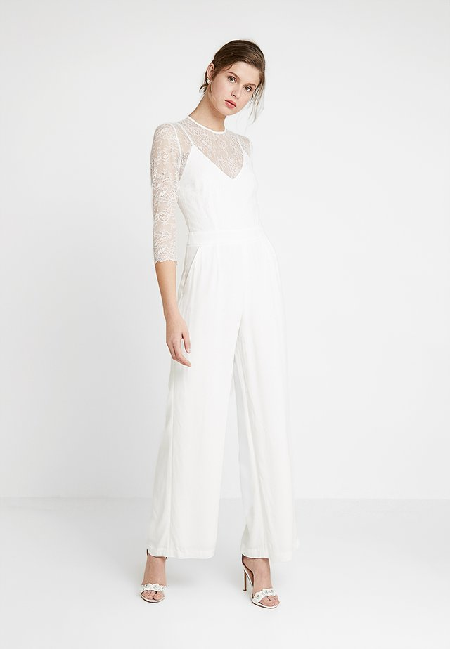 BRIDAL - Jumpsuit - snow white