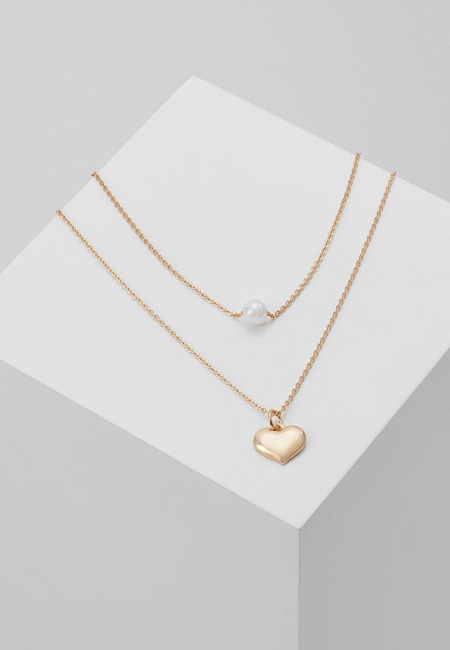 CRORESSA 2 PACK - Necklace - white print