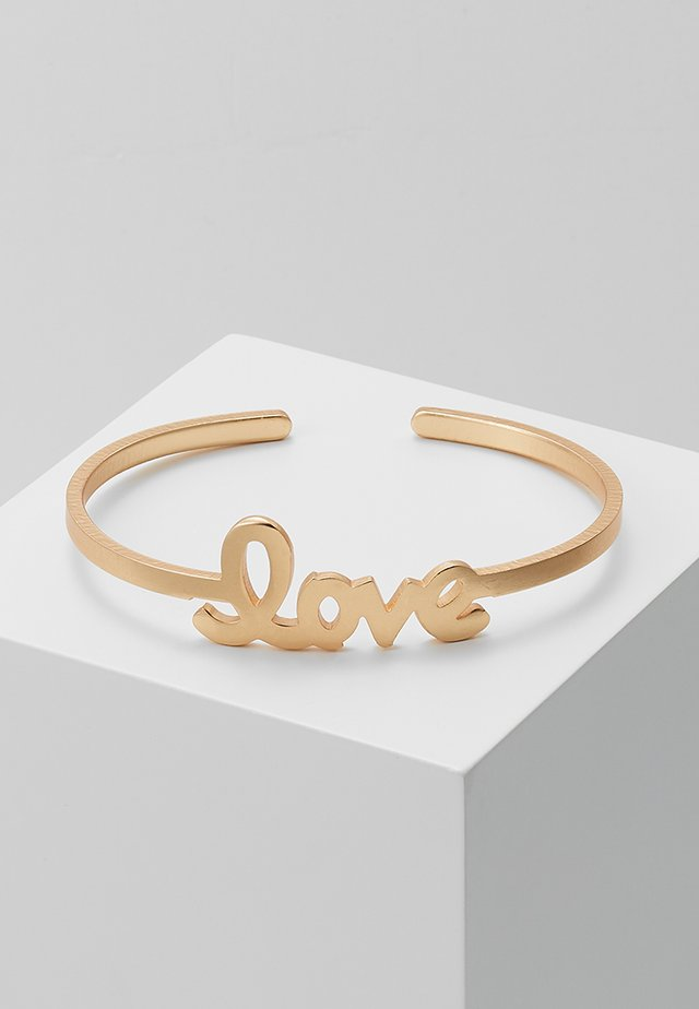ARMSPANGE LOVE - Bracelet - gold-coloured