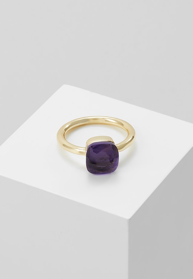 HATT  - Ring - gold-coloured/purple