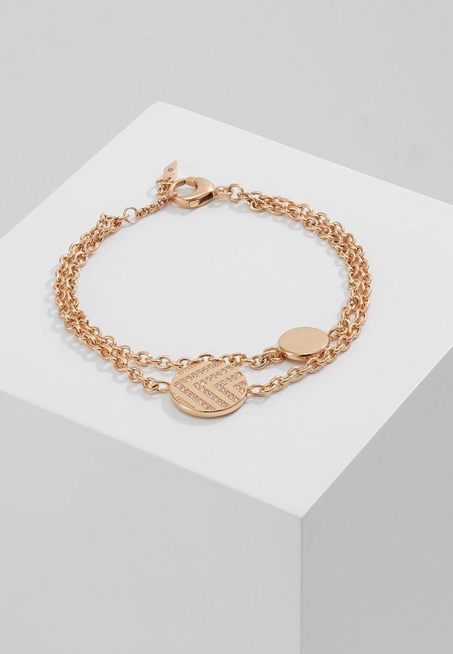 VINTAGE GLITZ - Armband - rose gold-coloured