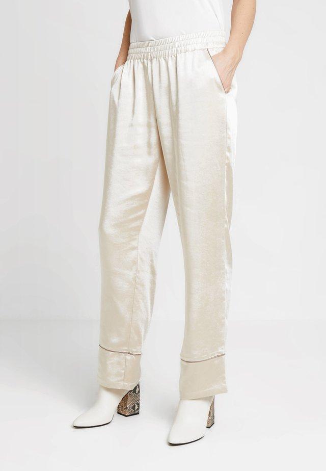 PANTS - Trousers - sandshell