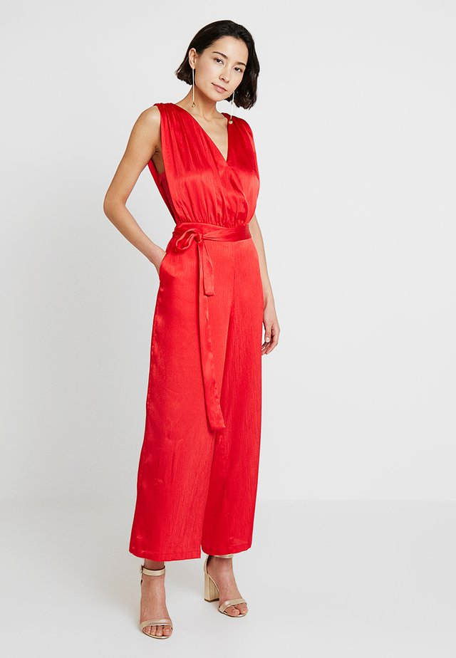 DARLY EVENING - Jumpsuit - patrol red