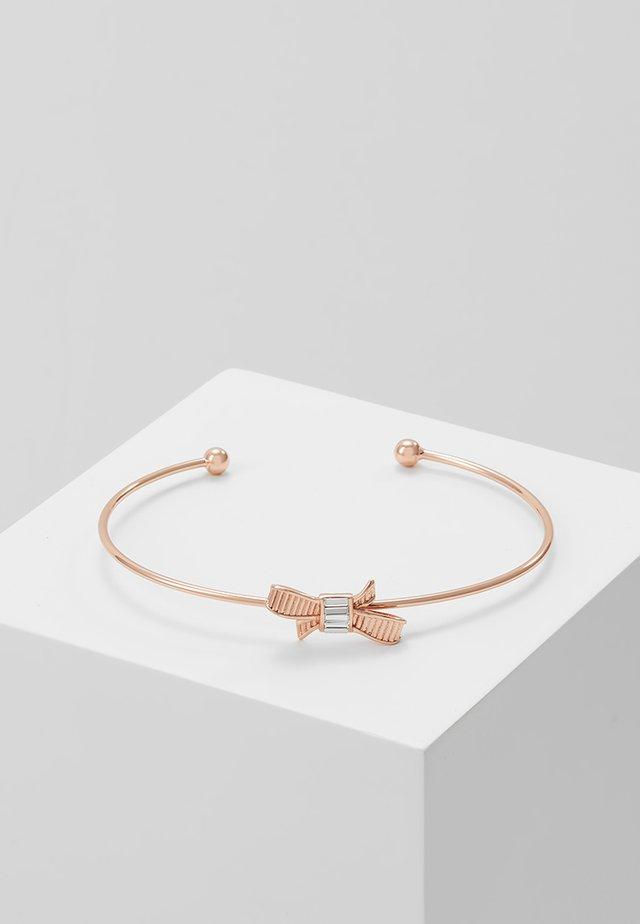 MINI BOW ULTRA FINE CUFF - Armband - rosegold-coloured