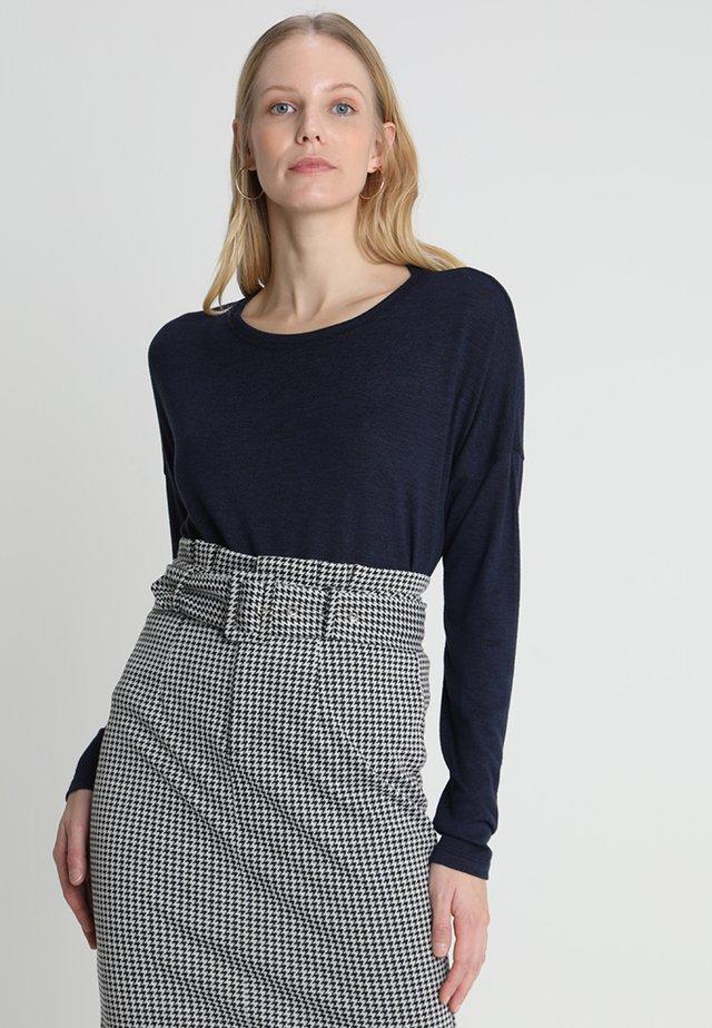 SVENIA - Long sleeved top - simply blue