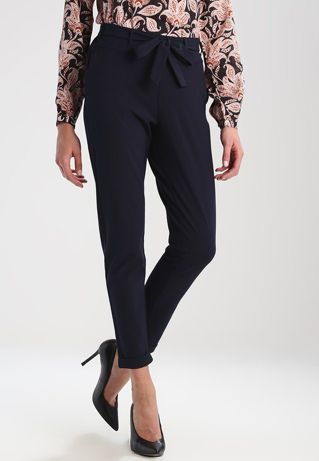 JILLIAN BELT PANT - Pantaloni - midnight marine