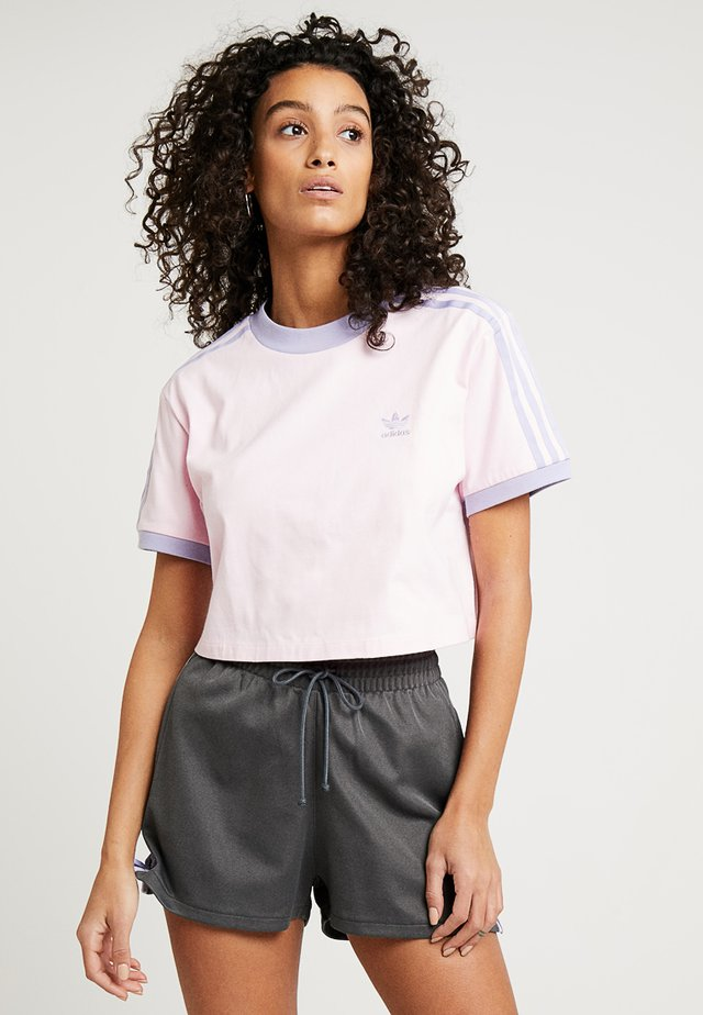 CROPPED TEE - T-shirts print - clear pink