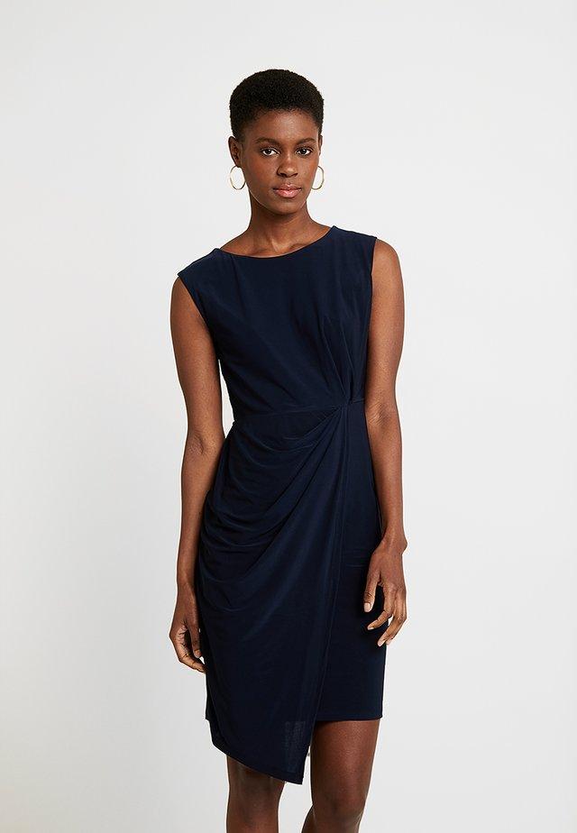 RUCH SIDE STEP DRESS - Shift dress - ink