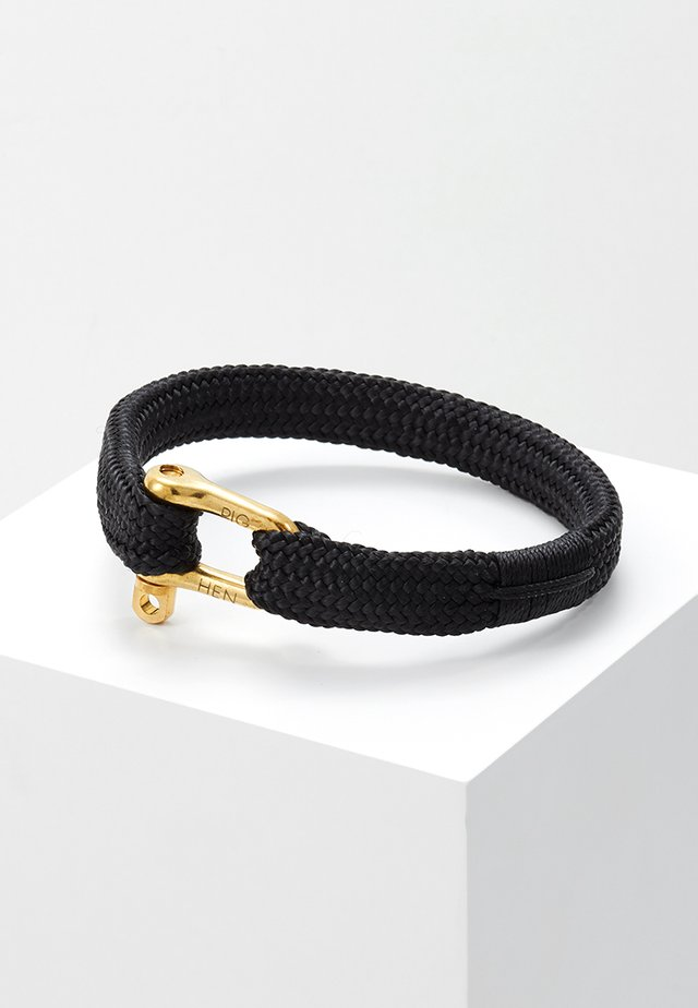 PEGLEG PETE - Armband - black/gold-coloured