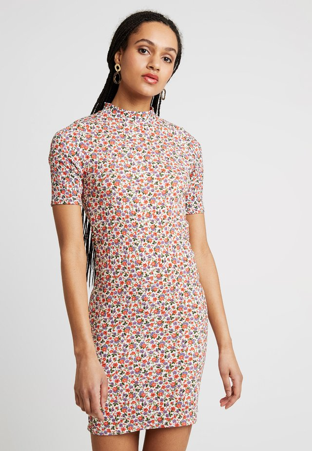 ARYA DITSY MINI - Robe fourreau - pink pattern
