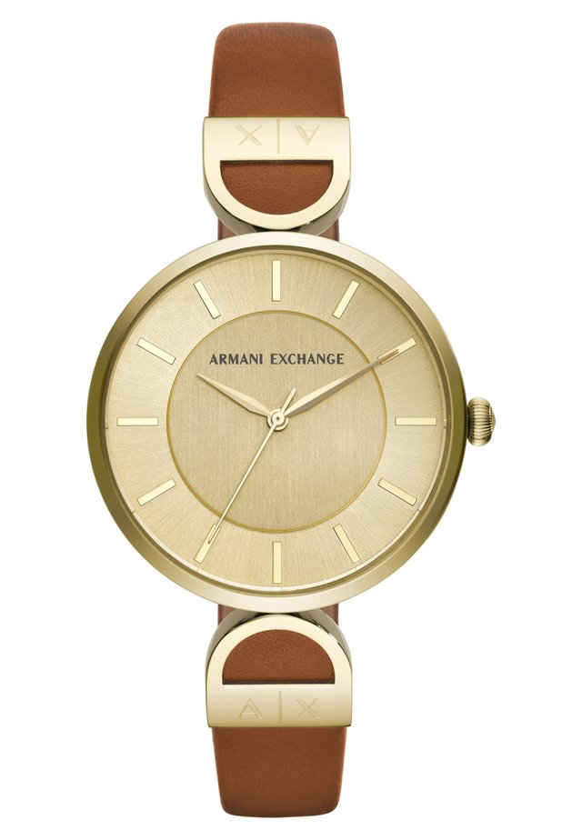 Uhr - brown/gold-coloured