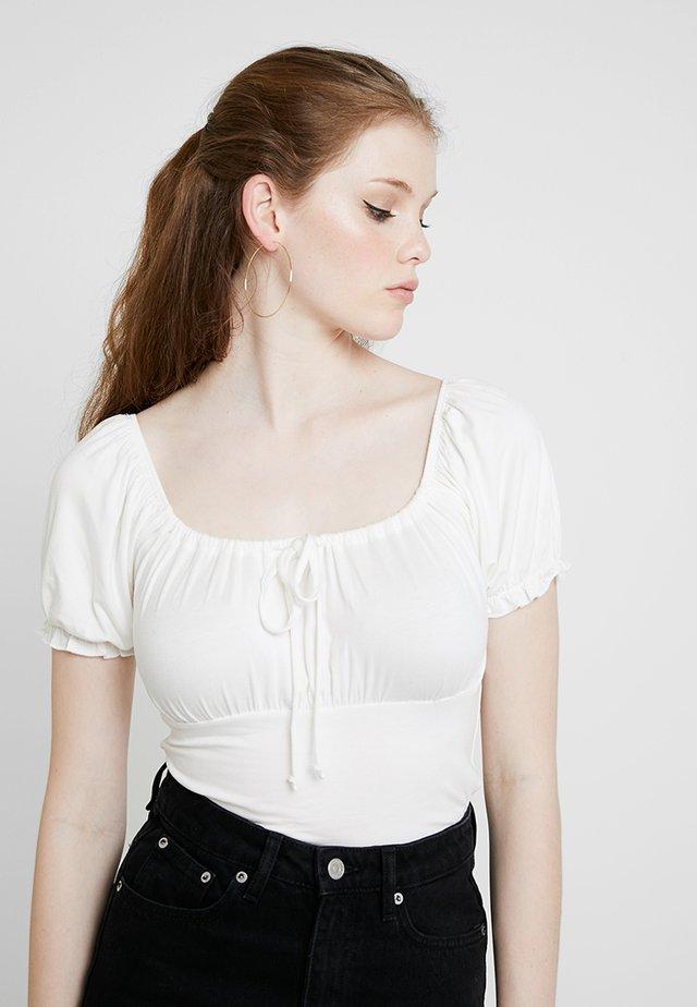 MILKMAID - T-shirt imprimé - cream