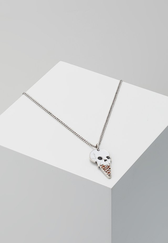 SKULLNETTO NECKLACE - Ketting - silver-coloured