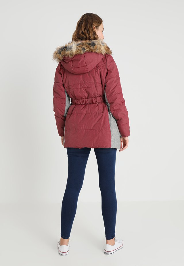 Winter jacket - tibeten red