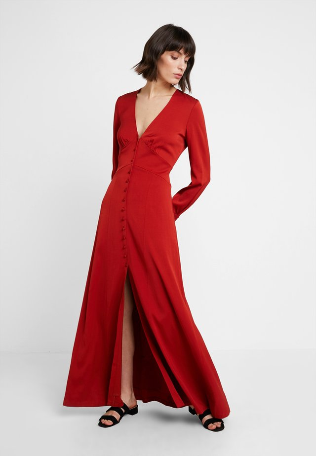 Occasion wear - red clay