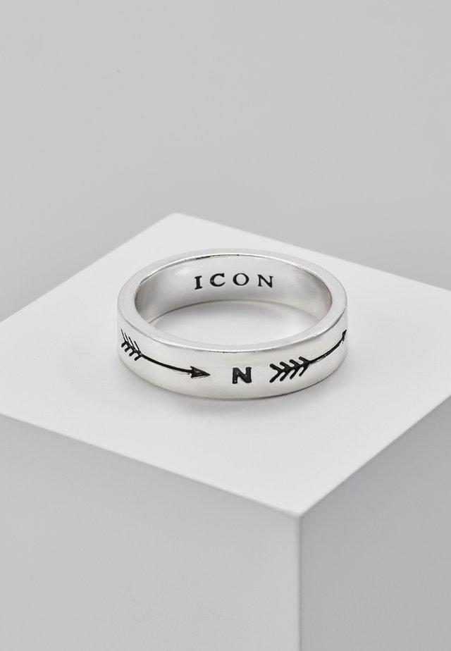 TAKE AIM PREMIUM - Ring - silver-coloured