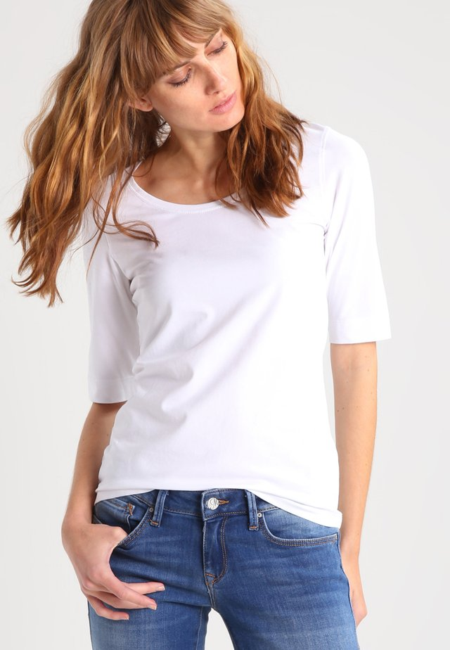 SANIKA - T-shirts basic - white