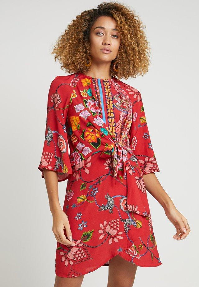 GLEN - Day dress - red