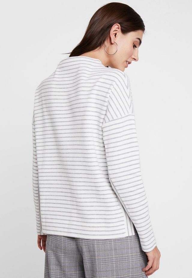 Sweatshirt - white/silver