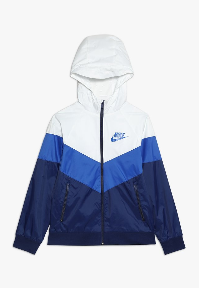 Verryttelytakki - summit white/game royal/blue void
