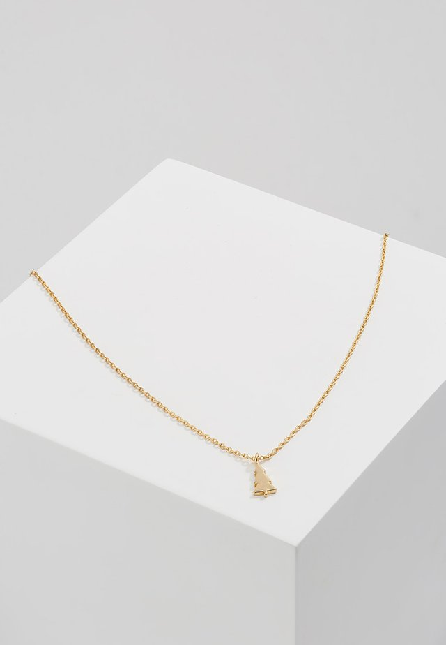 MERRY BRIGHT NECKLACE GIFTCARD - Collier - pale gold-coloured