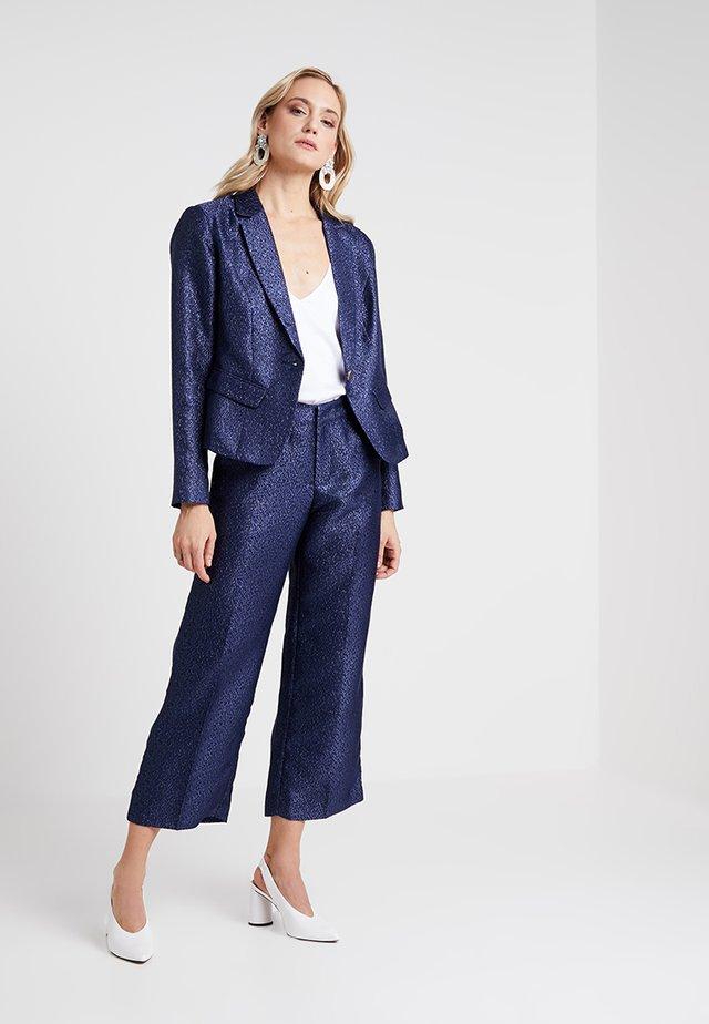 LYNNE EVENING CULOTTE PANTS - Pantalones - royal navy blue