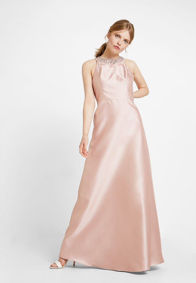 HALTER GOWN - Ballkleid - blush